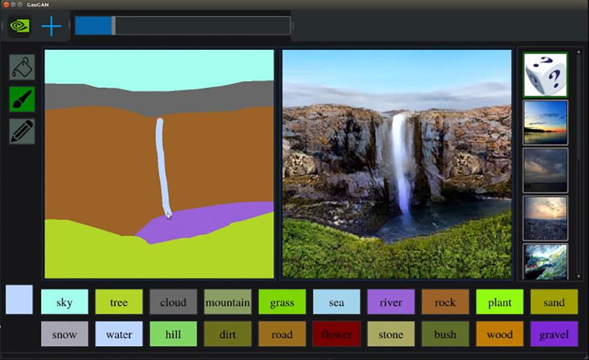 Nvidia'dan çizimleri saniyeler içinde gerçek manzalara çeviren yapay zeka yazılımı: GauGAN