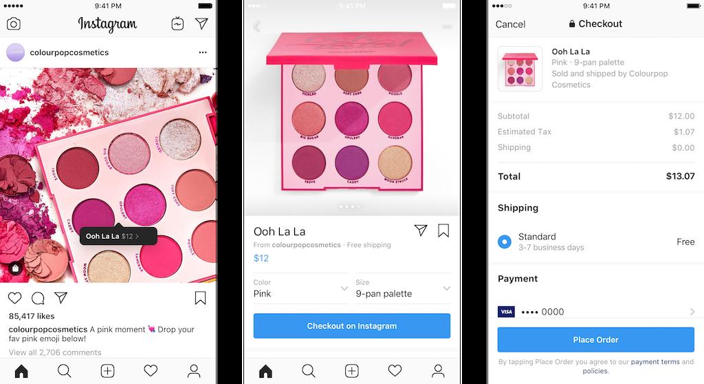 Instagram'a Uygulama İçi Alışveriş Özelliği Geldi